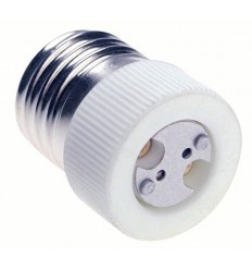 ADE27-GX6.35 - Adaptor for lamp holder E27 socket to GX-6.35 socket