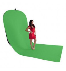 StudioKing Background Board BBT-10-07 Groen/Blauw 400x150 cm