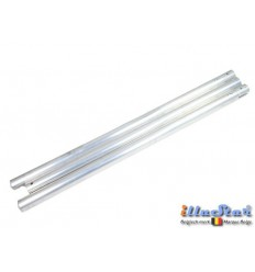 BGT3 - Aluminium background tube ø48 mm length 3000 mm - 3 sections - illuStar
