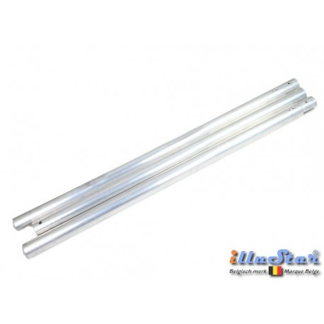 BGT-3 - Aluminium background tube ø48 mm length 3000 mm - 3 sections