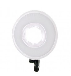Falcon Eyes Bi-Color LED Ringlamp Dimbaar DVR-300DVC op 230V