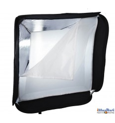 SBQS8080A152 - Softbox (Quick Setup) - 80x80cm - foldable - carry bag - illuStar