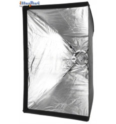 SBUF70100HCA135 - Softbox - (Fast foldable like umbrella) - 70x100cm with Diffuser & Honeycomb Grid - illuStar