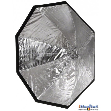 SBUF-95HC-A135 - Softbox - (Fast foldable like umbrella) - ø95cm Octagonal with Diffuser & Honeycomb Grid