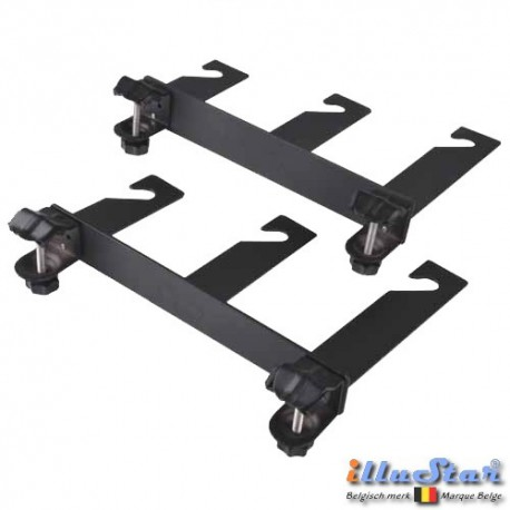 TC-3EX - Tube Clamp (10-40 mm) with Triple Hook (three axis) for 3x Expan (background rolls) (1 pair)