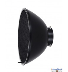 RBDHC30 - Beauty dish - Soft Reflector ø30cm with Honeycomb for SMD-serie & Mini & FS studio flash ø98~95mm - illuStar