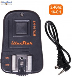 RTU16HT - Extra transmitter - 2.4 Ghz 16-channels - with Hot-shoe