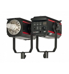 AX-500 - Studio Flash - Digital and stepless 15Ws~500Ws - Cooling fan - E27 250W halogen - elfo adaptor - elfo