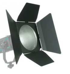 E016 - Barndoor 360° rotating with frame for Colour filter - clicks on reflector 60/60Pro ø220mm - elfo