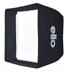 B005-A144 - Softbox 75x75cm - 360° rotating - foldable - carry bag - elfo