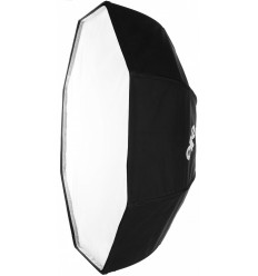 B010-A144 - Softbox octagonal / round model ø100cm - 360° rotating - foldable - carry bag - elfo