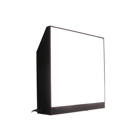A029 - Backlit screen with built in flash for white background, built in photocell - 750x200x760mm