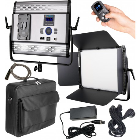 promo ledp 100pro dmx led video foto studioverlichting 100w 100w bi