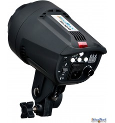 FS-200D - Studio Flash, Digital and Stepless 200~6 Ws, GX6.35 100W halogen, Bowens-S adaptor - illuStar