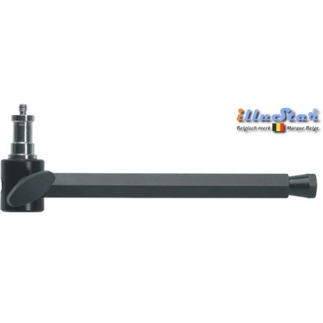 EP-22 - Extended pole 22cm hexa fit in SCLAMP (super clamp), with spigot SP-D4M8M