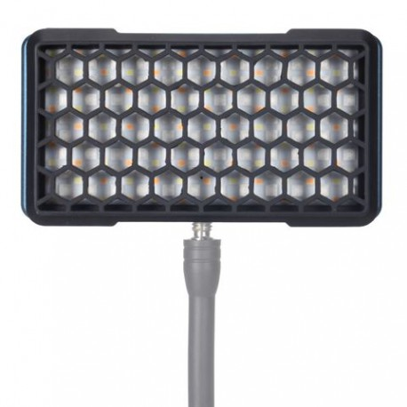 Falcon Eyes RGB LED Lamp PockeLite F7 met Accu, Diffuser en Grid