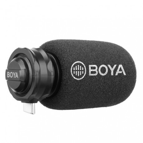 Boya Digitale Shotgun Microfoon BY-DM100 voor Android USB-C