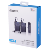 Boya 2.4 GHz Dual Lavalier Microphone Wireless BY-WM4 Pro-K6 for Android