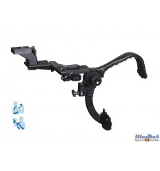 BLH805 - DSLR / Videocamera (RIG) Shoulder stabilzer bracket - Suitable for placing on a light stand - illuStar