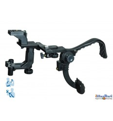 BLH808 - DSLR / Videocamera (RIG) Shoulder stabilzer bracket - Suitable for placing on a light stand - illuStar