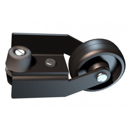 M022 - Wall roller whitch protects the wall against rail strokes - Elfo