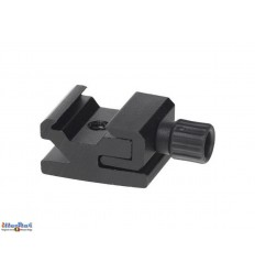 "FLH10 - Hot-Shoe holder for mounting speedlite on stand with Screw Thread Mounting (female 1/4"") - illuStar"