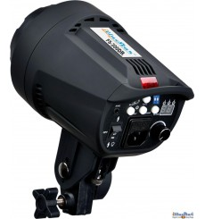 FS-300DR - Studio Flash, Digital and Stepless 300~9 Ws, GX6.35 100W halogen, Bowens-S adaptor - illuStar