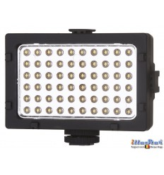 LEDC6W - 6W LED Video & Photo on-Camera Light - 5500°K - 360 lm - Built-in Li-ion rechargeable battery - Standard Hot-Shoe - illuStar