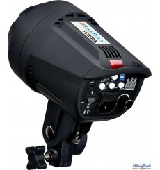 FS-200DR - Studio Flash, Digital and Stepless 200~6 Ws, GX6.35 100W halogen, Bowens-S adaptor - illuStar
