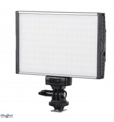 LEDC15W - 15W+15W Bi-Color LED Video & Photo on-Camera Light - 1500 lm - For 7.4V Li-ion battery NP-F550/750/960  / DC 13-17V