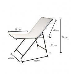 ST60130 - Table de prise de vue 60x130cm, repliable