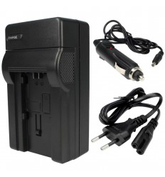 CH-F550 - Charger for Li-ion battery NP-F550/750/960 with cigarette lighter and power cable