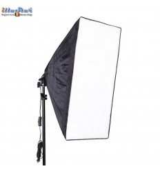 LHSB50 - Lamp Holder for E27 bulb with Easy Foldable Softbox 50x50cm