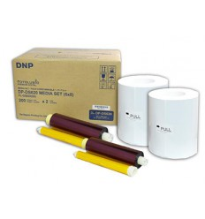 DNP 2 rolls of paper 10x15cm (400 sheets) for DS620