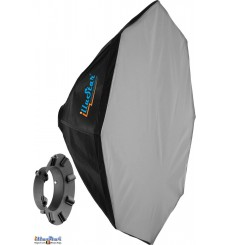 SB-80 - Softbox ø80cm - Octagonal - foldable - carry bag