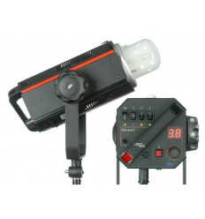 QUANT600PRO - Studio Flash - Digital and stepless variable 600~18 Ws (Joule) - Fan cooled - Halogen 300W, elfo adaptor