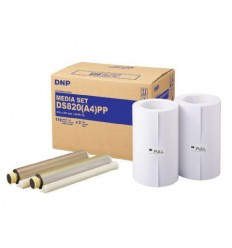 DNP Paper DMA4820 Premium 2 Rolls with 110 prints A4 for DS820