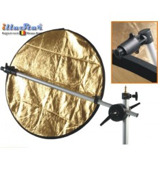 RH-168-C - Reflector holder for 5-1 reflector, arm length 168~63cm, with eccentric cam for assembly on light stand