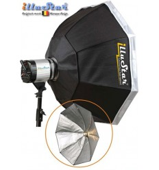 SB120A144 - Softbox ø120cm - Octagonal - 360° rotating - foldable - carry bag - illuStar