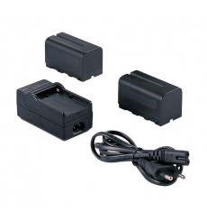 Falcon Eyes 2 x Battery NP-F750 + Battery Charger SP-CHG for LED Lamp