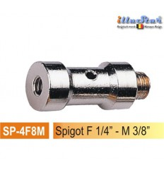 "SP4F8M - 5/8"" Spigot - 39mm (female 1/4"" - male 3/8"") - illuStar"