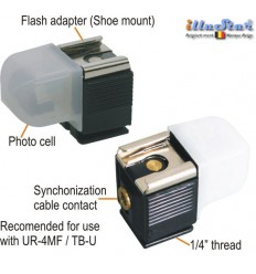 TB01 - Slave sensor - Flash sensitive trigger with both hot shoe and PC Cord connections - illuStar
