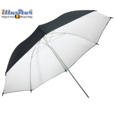 UR80WB - Umbrella ø84cm - White & Black - illuStar
