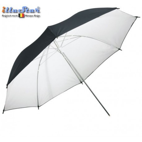 URD-100WB - Umbrella ø101cm - Transparent or White reflective through removable reflective coating