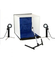 Falcon Eyes Foldable Photo Box PBK-40AB-2LS 40x40 cm + 2 x 50W Lamps