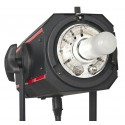 FX-500 - Studio Flash - Digital and stepless 500~15 Ws (Joule) - Cooling fan - E27 250W halogen - Bowens-S adaptor