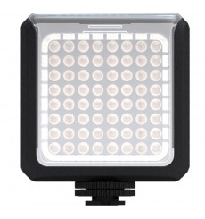 LEDC-5W - 5W LED Video & Photo on-Camera Light - 5500°K - 360 lx - For 4 AA batteries - Standard Hot-Shoe