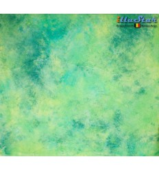 BM089 - Backdrop 3 x 6 m - High quality cotton muslin - Pocket loop for crossbar at the top - Crush Dyed - illuStar