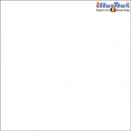 BM-WH - Backdrop 3 x 6 m - High quality cotton muslin - Pocket loop for crossbar at the top - White