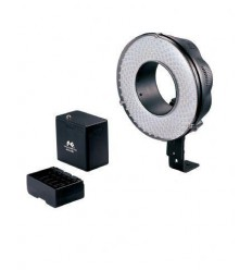 LED Ringlamp Set Dimbaar DVR-240DF op Batterij/230V - Falcon Eyes